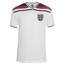 England 1982 Home Shirt White M