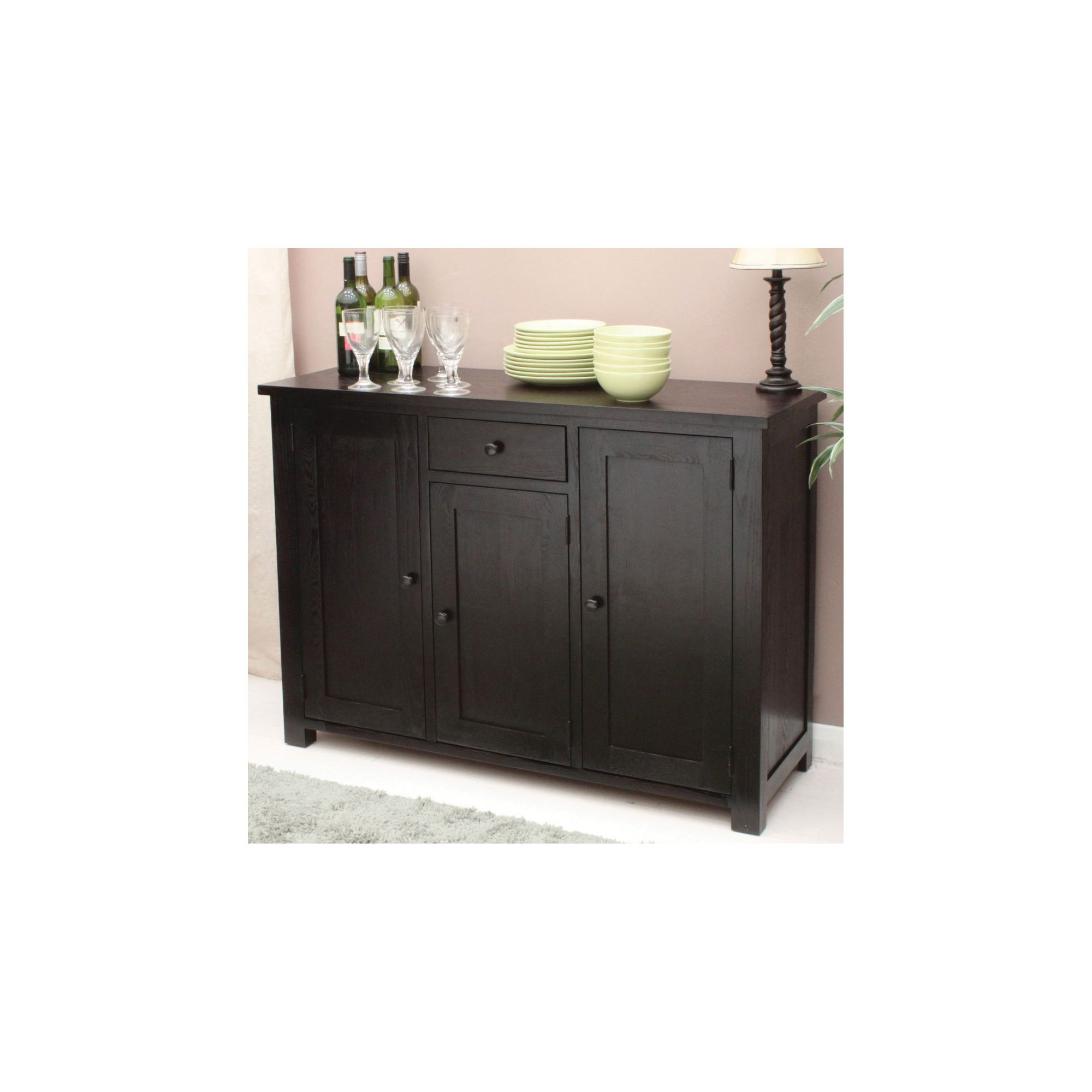 Baumhaus Kudos 3 Door 1 Drawer Sideboard at Tesco Direct