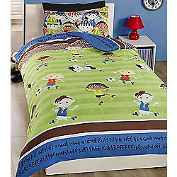 Football Friends, Single Bedding