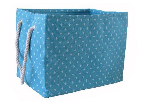 Wicker Valley Rectangular Soft Storage in Blue Star