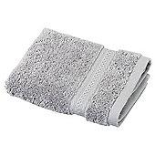 Egyptian Cotton Silver Face Cloth
