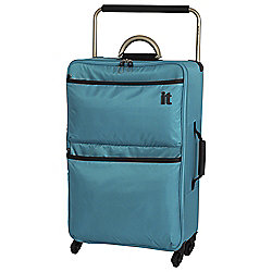 IT Luggage World's Lightest 4-Wheel Suitcase, Capri Breeze Medium