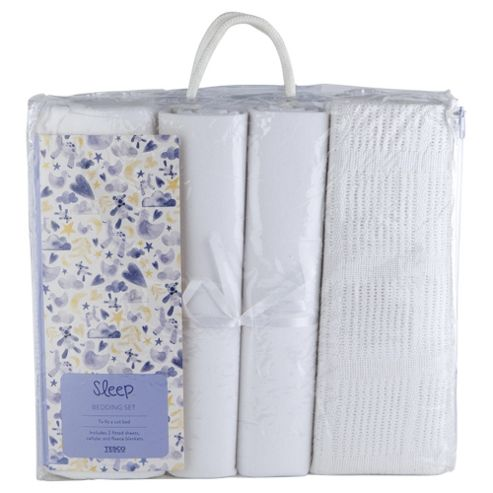 buy tesco 4 pack baby bedding bumper set white from our fitted sheets range tesco