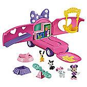 Minnie Precious Pet Tour Van