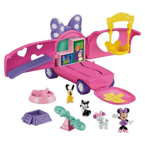 Minnie Precious Pet Tour Van