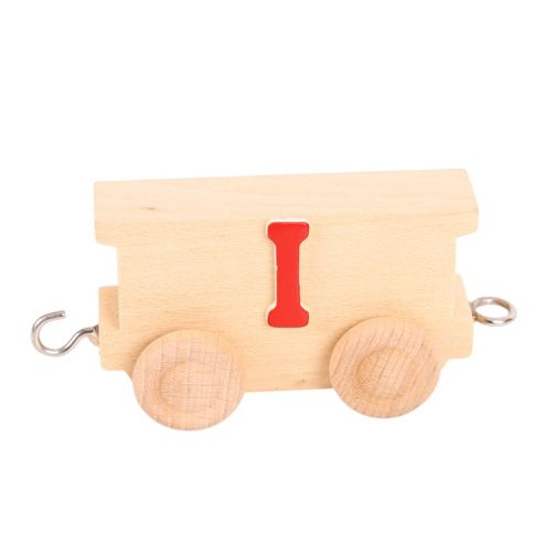 Bigjigs Toys BJ201I Name Train Letter I