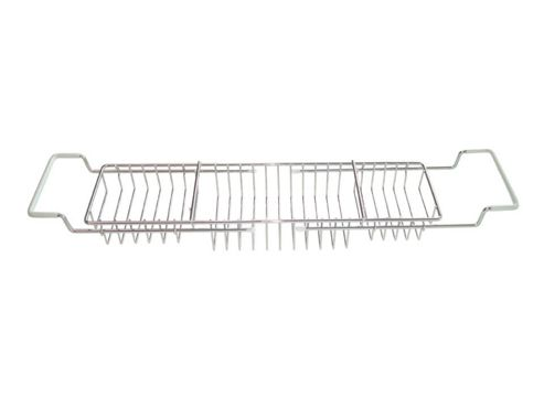 Aqualon 74923 Extendable Bath Rack Chrome