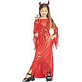 Devilish Diva - Child Costume 11-12 years
