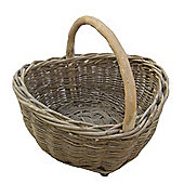 Wicker Valley Carrying Basket