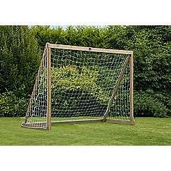 Plum Wooden Football Goal, 8x6ft