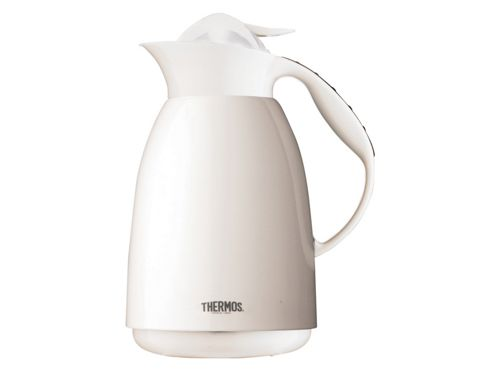 Thermos 075548 Paris Carafe White 1Ltr