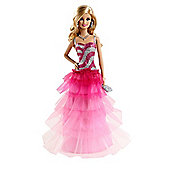 Barbie Ruffle Gown Doll
