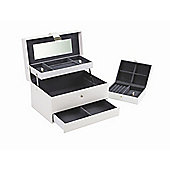 Boutique Autotray Jewellery Box - White - Large