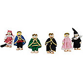 Bigjigs Toys JT118 Heritage Playset Fairy Tale Doll Set