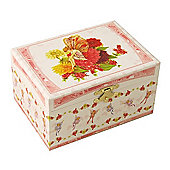 Garden Fairy Musical Jewellery Box