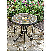 Europa Leisure Torello Round Stone Bistro Table - 73 cm H