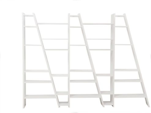 Tema Home Delta 005 Bookcase - Pure White