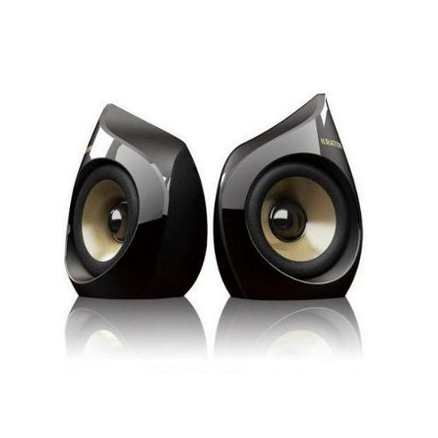 Krator Neso 04 5W 2.0ch USB Speakers for iPhone and iPod - Black