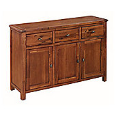 Prussia 3 Door Sideboard - Dark Acacia