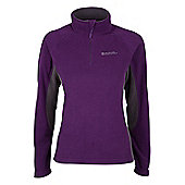 Womens Buxton Walking Hiking Fleece - Purple