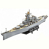 Revell Battleship U.S.S.New Jersey 1982 Ship 1:350 Plastic Model Kit - 05129