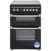 Indesit Electric Cooker, ID60C2KS, Black
