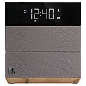 Soundfreaq SFQ-08WW Sound Rise FM Clock Radio Wood & Taupe