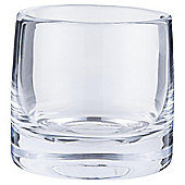 Tesco Chunky Tealight Holder Clear