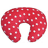 PreciousLittleOne Fleece Nursing Pillow (Red Stars)