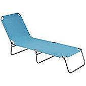 Hhsw Folding 3 Leg Polyester Sunbed