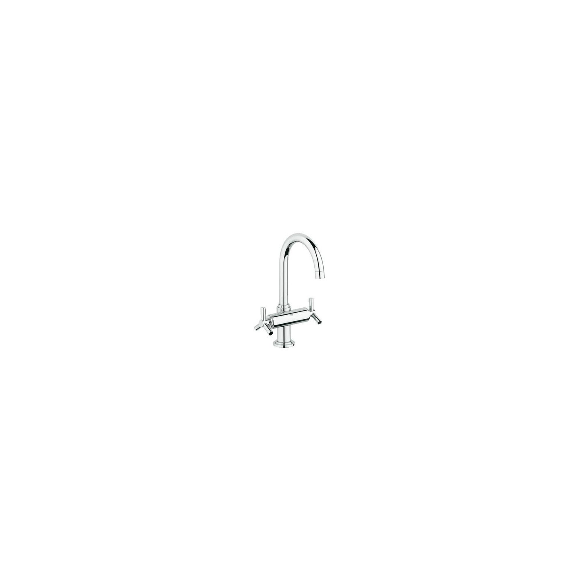 Grohe Atrio Ypsilon Mono Basin Mixer Tap, Dual Handle, Chrome at Tesco Direct