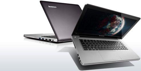 Lenovo IdeaPad U410 4376A2G (14 inch) Notebook Core i7 (3517U) 1.9GHz 8GB 1TB 24GB Solid State Drive WLAN Webcam Windows 8 (nVidia GeForce 610M) Grey