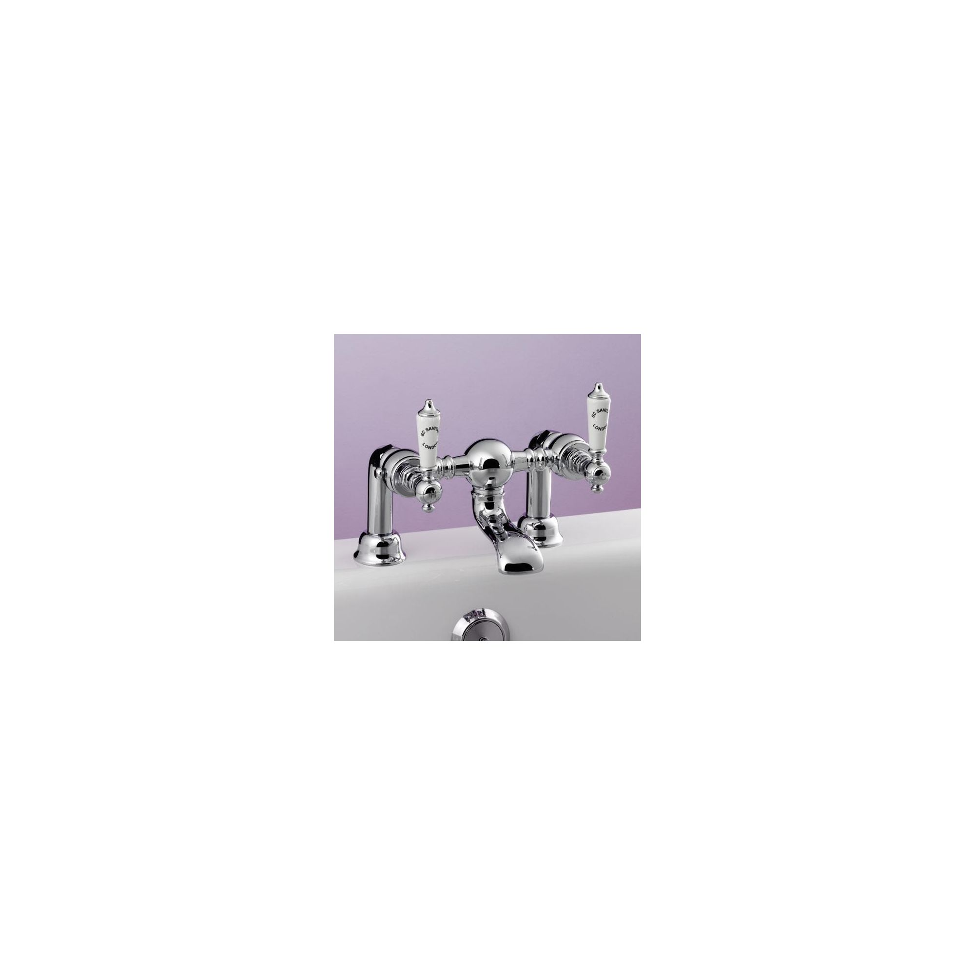 BC Sanitan Berkeley Bath Filler Chrome at Tescos Direct