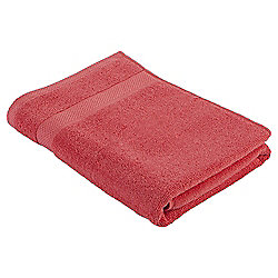 Pure Cotton Bath Towel Coral