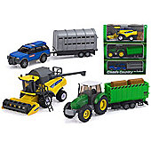 Classic Country Farm Playset 3 Vehicles