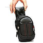 Black Camera Case For The Panasonic DMC-TZ57 Camera