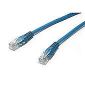 StarTech 7 ft Cat5e 350 MHz Molded UTP Patch Cable Blue