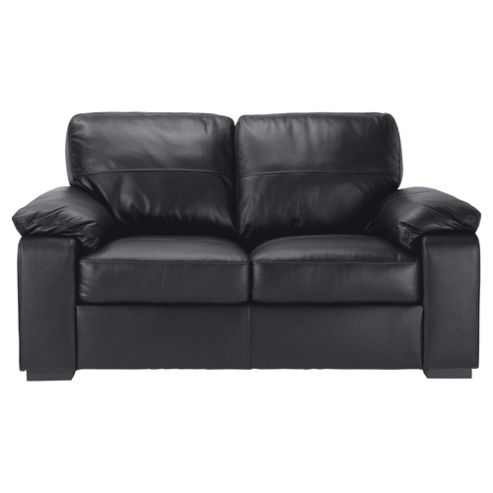 Buy Ashmore 2 Seater Leather Sofa Black From Our Leather