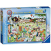 Best of British - The Cricket Match - 1000pc Puzzle