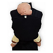 Palm and Pond Stretchy Baby Wrap - Black