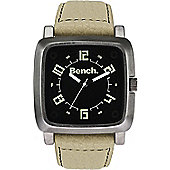 Bench Mens Leather Watch - BC0400BKBG
