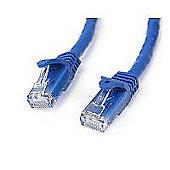 STARTECH - 15m Blue Gigabit Snagless RJ45 UTP Cat6 Patch Cable - 15 m Patch Cord