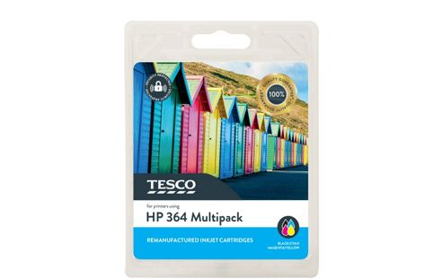 Tesco H364 Printer Ink Cartridge Multipack