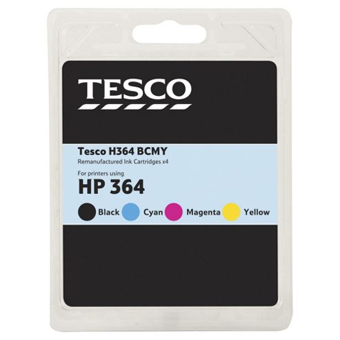 Tesco H364 Ink Cartridge - Tri-Colour