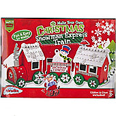 Santa's Stocking Fillers - Make Your Own Christmas Snowman Express Train