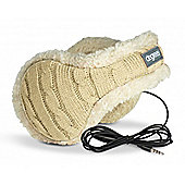 Cable Knit Headphone Ear Warmer Women Snow