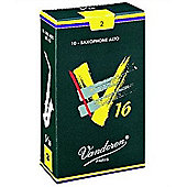 Vandoren V16 2 Alto Sax Reed (x10)