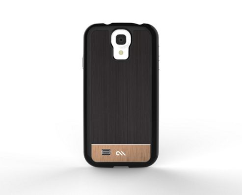 Case-Mate Premium Refined Brushed Aluminium Cases for Samsung Galaxy S4 - Black/Rose Gold