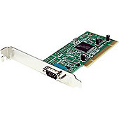 1 Port PCI RS232 Serial Adapter Card w/ 16950 UART - Dual Voltage - RS-232 Dual Voltage/Dual Profile Serial Card - Serial adapter - PCI-X low profile
