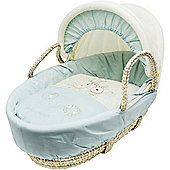Kinder Valley Daisy Boo Moses Basket (Blue)